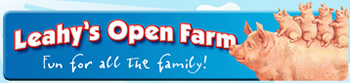 Leahys Open Farm - things to do near Ardmore, Co. Waterford - playground, go-karting, boat rides, leprechauns cave, maze, restaurant & coffee shop, museum